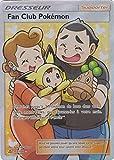 Carte Pokémon SL5 Dresseur 'Fan Club Pokémon' 155/156 - Full Art