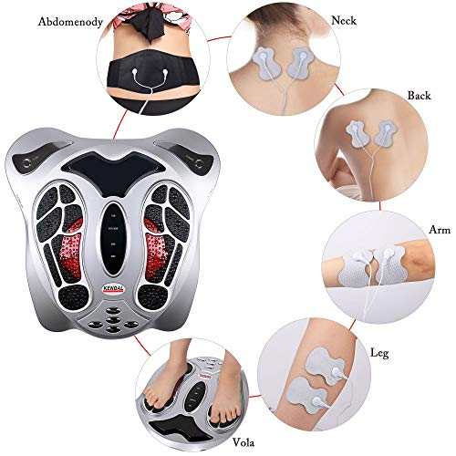Physiotherapeutic Device with Foot Reflexology