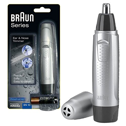 Braun EN10 Wet and Dry Ear/Nose Hair Trimmer