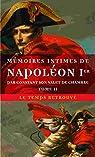 Memoires intimes de napoleon 1e par constant, son valet de chambre par Wairy