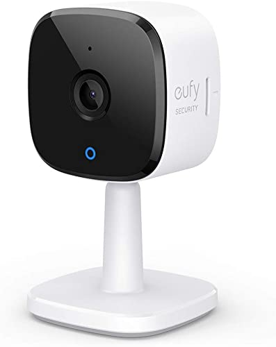 wholesale eufy Security Solo IndoorCam C22, sale 1080p Security Indoor Camera, Plug-in Camera with Wi-Fi, Human and Pet AI, Voice new arrival Assistant Compatibility, Night Vision, Two-Way Audio, Homebase not Compatible outlet sale