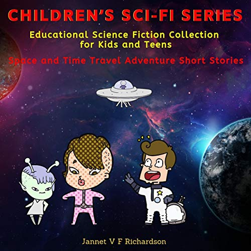 Children's Sci-Fi Series cover art