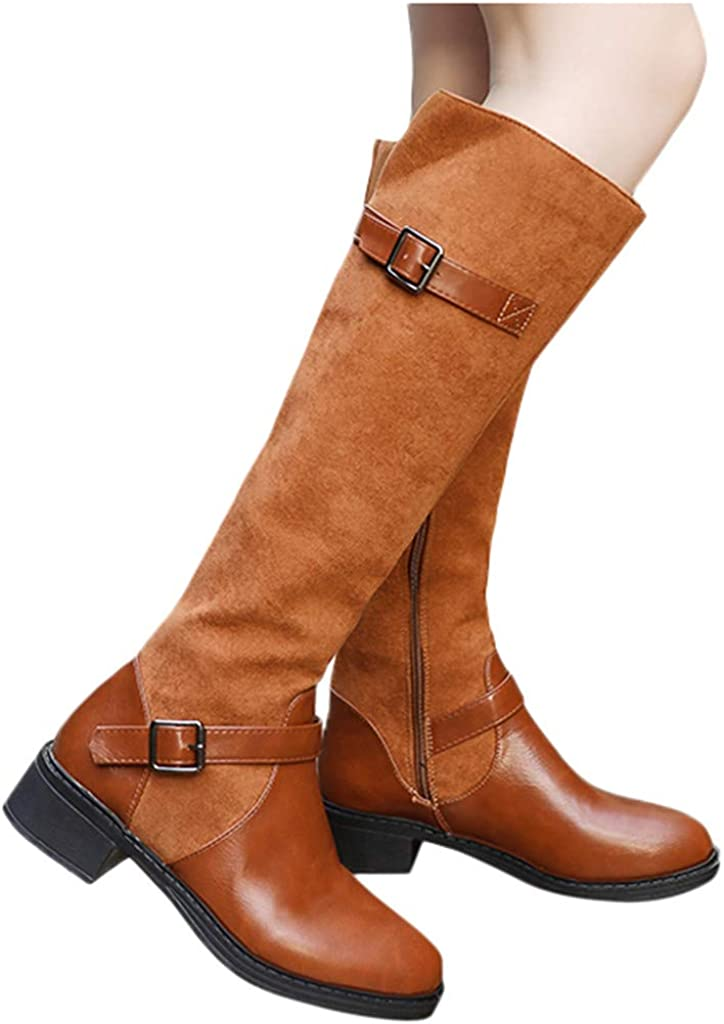 Minikoad/_Women Boots Clearance Women Solid Pointed Toe Boot Ankle Ladies Retro Thick Square High Heel Shoe Short Booties