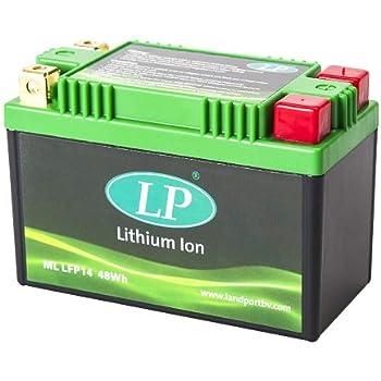400, 2013-2014 Accossato ML LFP9-370 Batteria al Litio per Yamaha X-Max 400