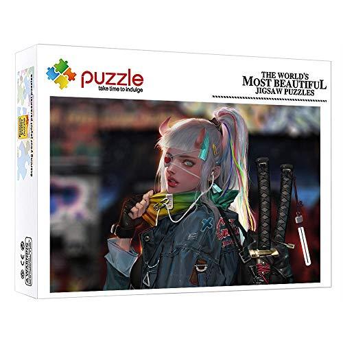 FFGHH Rompecabezas Puzzles 1000 Piezas Puzzle 1000 Piezas Niños Personajes De Anime Mini Puzzle Regalo De Cumpleaños para Amigo Niños Y Adultos 14.96 In X 10.23 In