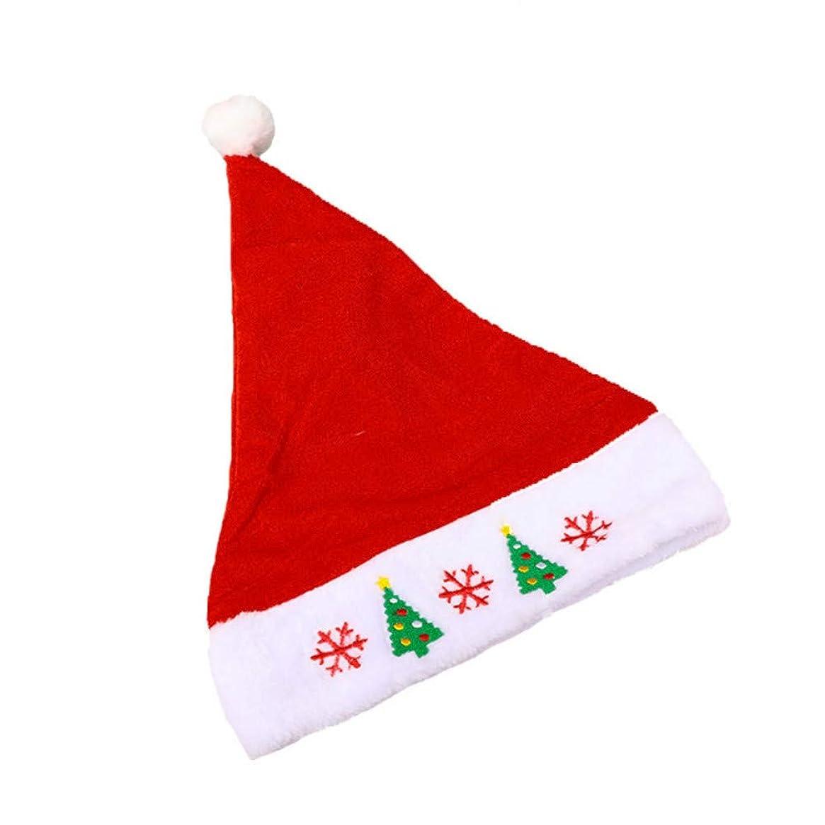 ほうきなだめるおじさんサンタ帽子 クリスマス帽子 コスプレ 変装 パーティー 大人用コスチューム用小物 クリスマスコスプレ 仮装 衣装 コスチュームグッズ メンズ レディース共用 (クリスマスツリー)