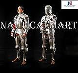 NAUTICALMART Disfraz de Armadura de Caballero Medieval, de Armadura