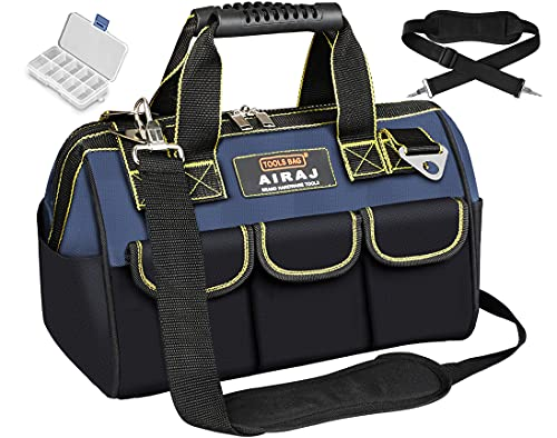 AIRAJ 33 * 21 * 25cm Bolsa de herramientas Multifunción con Carga Máxima18-50kg,14...