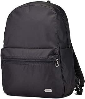 Pacsafe Daysafe Backpack - Everyday Anti-Theft Backpack - Navy Polka Dot