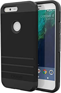 Google Pixel Case, Crave Strong Guard Protection Series Case for Google Pixel 2016 - Black