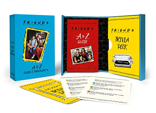 Compare Textbook Prices for Friends: A to Z Guide and Trivia Deck  ISBN 9780762497904 by Morgan, Michelle