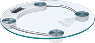 MT 2003A Round Glass Personal Scale, 180 KG - Transparent
