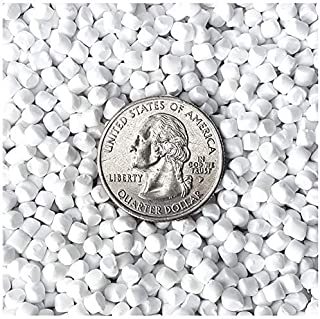 Victory Pellets Extra Heavy (10 LBS) Plastic Poly Pellets for Weighted Blankets, Vests, Cornhole Bags, Bean Bag Toss Bags, Reborn Dolls, Plush Toys, Draft Stoppers & Sensory Lap Pads. Made in USA.