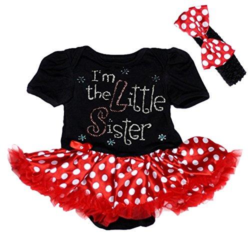 Petitebelle - Body - Bébé (fille) 0 à 24 mois noir noir 0-3 mois - noir - S