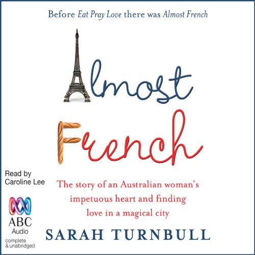 Almost French audiobook cover art