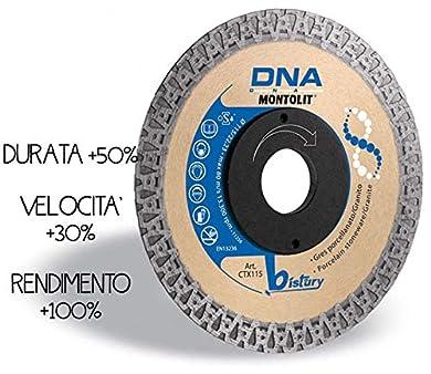 Foto di MONTOLIT CTX115 DISCO DIAMANTATO CONTINUO GRES PORCELLANATO GRANITO CTX 115 DNA