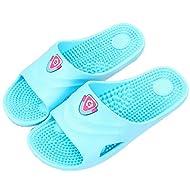 SAMSAY SPA Massage Slippers Household Bathroom Shower Sandal Shoes for Women Men
