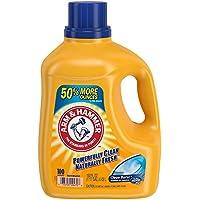 Arm & Hammer Clean Burst HE Liquid Laundry Detergent, 100 loads