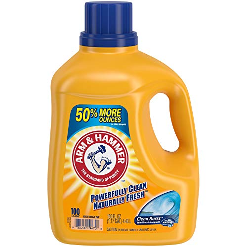ARM & HAMMER Clean Burst HE Liquid Laundry Detergent