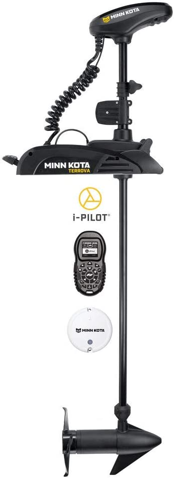 Minn Kota Max 73% OFF Terrova Freshwater Bow-Mount 54-In Limited price Motor Trolling with