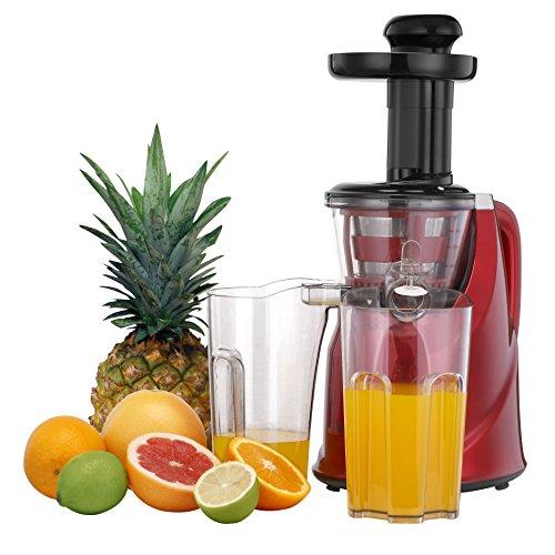 VonShef Professional Slow Fruit Vegetable Masticating Juicer...