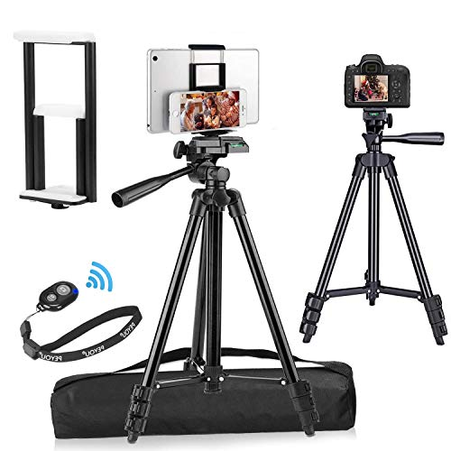 PEYOU lightweight Aluminum Phone Camera Tablet Tripod