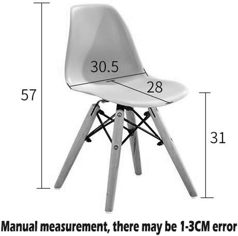 WDX- Chaise pour enfants Accueil Ménage Créativité Couleur Jardin d'enfants Éducation préscolaire Dossier Tabouret Chaise pour étudiants mode (Color : D) E
