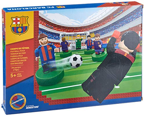 Paul Lamond Nanostars Fc Barcellona Pitch Brick Construction Set, 7312
