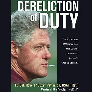 Dereliction of Duty audiobook cover art
