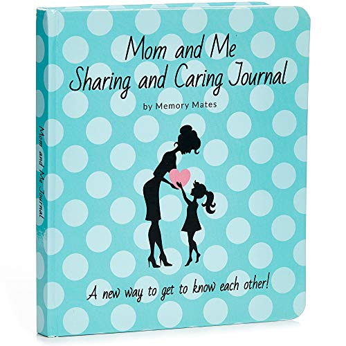 Squirrel Products Mom and Me Sharing and Caring Journal - Mother and Daughter Interactive Conversation Diary with Discussion Prompts