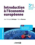 Introduction à l'économie européenne (2021)