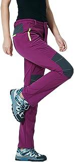 comprar comparacion Qitun Mujer Hombre de Trekking Senderismo Impermeable Secado Rápido Deportivos Transpirable Pantalones