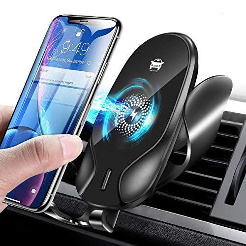 Jojobnj Handyhalterung Auto Handyhalter fürs Auto Lüftung Universal Handy KFZ Halterungen für iPhone Samsung Huawei Sony LG und mehere Smartphone oder GPS-Gerät
