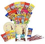 Easter Snack Gift Tin Basket - Easter Candy, Gummy, Eggs,...