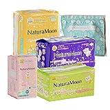 ナチュラムーン(NaturaMoon) 生理用紙ナプキン 高分子吸収剤不使用 ノンポリマー スターターセット