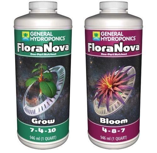 General Hydroponics FloraNova Combo Kit: Grow and Bloom (1 Quart)