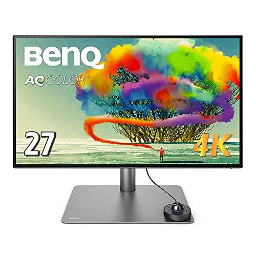 BenQ PD2725U 27型 4K Thunderbolt3対応モニター(4K/DisplayHDR 400/IPS/ノングレア/広色域/Thunderbolt 3/...