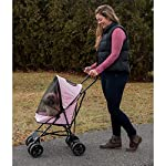 Pet Gear Travel Lite Pet Stroller for Cats and Dogs up to 15-pounds, Pink 10