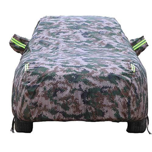 IDWOI tuinafdekking voertuigafdekkingen, compatibel met BMW X1, waterdicht, ademend, heavy duty regen sneeuw stof zon UV-weerbestendig waterdicht bescherming