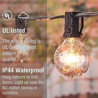 اسعار 25Ft G40 سلسلة أضواء العالم مع لمبات