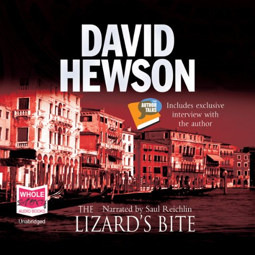 The Lizard's Bite audiobook cover art