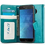 J&D Case Compatible for Motorola Moto E4 Plus Case, Wallet