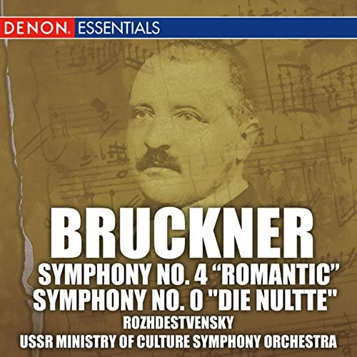 Guennadi Rozhdestvensky, Ussr Ministry Of Culture Symphony Orchestra