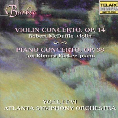 Violin Concerto Opus 14 by Barber, Levi, Atlanta Symphony Orchestra (1997) Audio CD