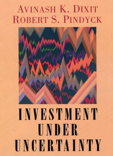 Investment under Uncertainty (English Edition) eBook: Dixit, Robert K., Pindyck, Robert S.: Amazon.es: Tienda Kindle