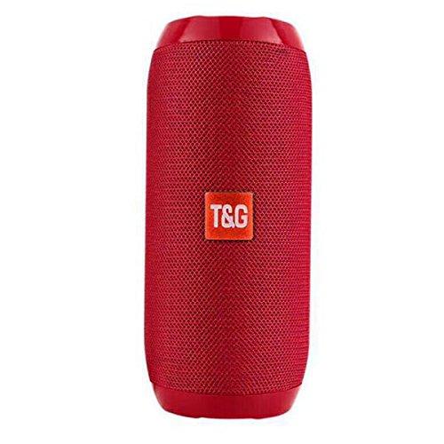 Altavoz PORTATIL Estereo BT Speaker TG117 Bluetooth Reproductor MP3 FM USB Micro SD