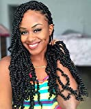 Toyotress Tiana Passion Twist Hair Pre-Twisted 8 Packs (12 strands/pack) Passion...