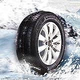 WEI-LUONG Cadena de neumáticos de arena Cadenas de nieve del neumático de coche 2pcs TPU + Nylon neumático de la rueda antideslizantes Cadenas envío de la gota
