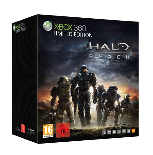 Console Xbox 360 250 GB Limited Edition + Halo Reach [import allemand]