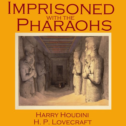 Imprisoned with the Pharaohs audiobook cover art